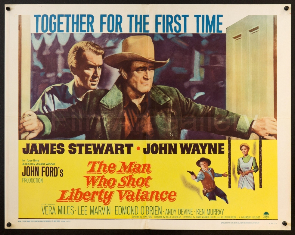 Cartaz do filme The Man Who Shot Liberty Valance